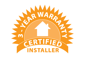 3 Year Labor Warranty